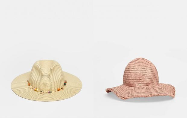 plaj şapkası hm