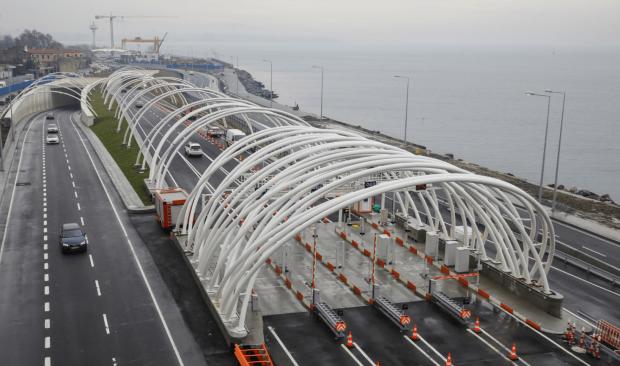 Yaklaşık 35 Milyon Aracın Geçtiği Avrasya Tüneli'nden 1,2 Milyar Lira Getiri Sağlandı