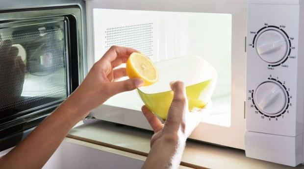 Mikrodalga nasıl temizlenir?