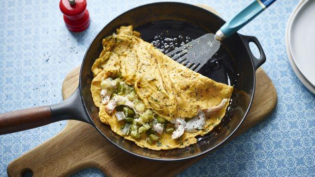 omlet kaç kaloridir