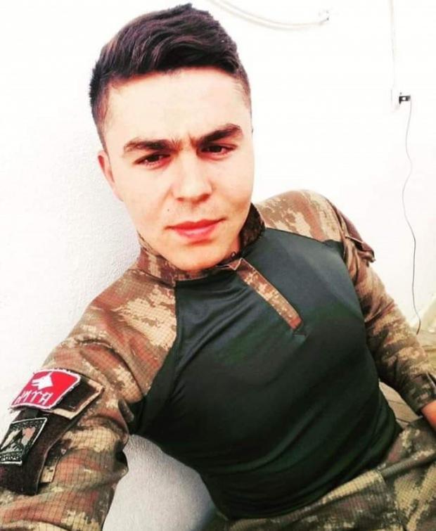 Azez'de şehit olan askerimiz Halil Kurt