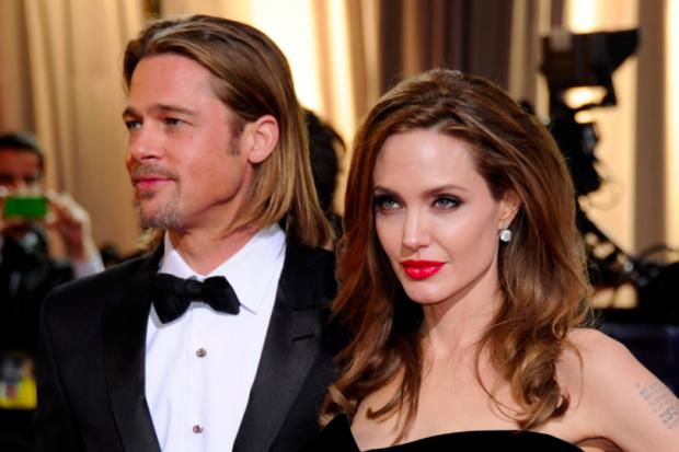 Brad Pitt ile Angelina Jolie