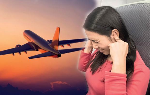 uçak yolculuğunda kulak basıncı