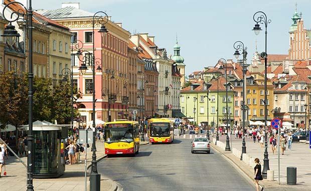 Varşova, Polonya