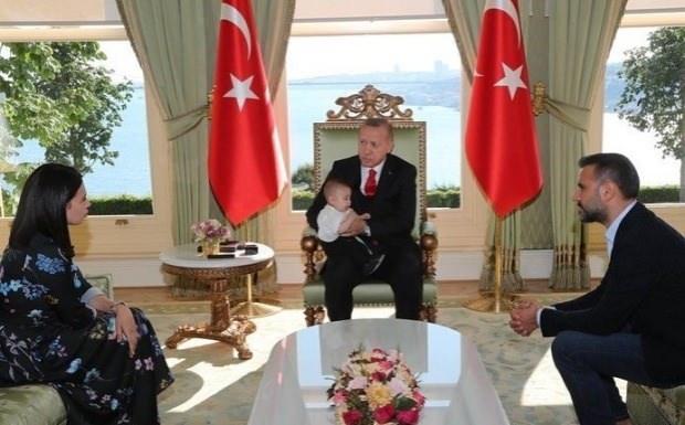 alişan cumhurbaşkanı erdoğan