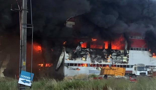 Kocaeli'deki fabrika yangınıyla ilgili 2 kişi tutuklandı