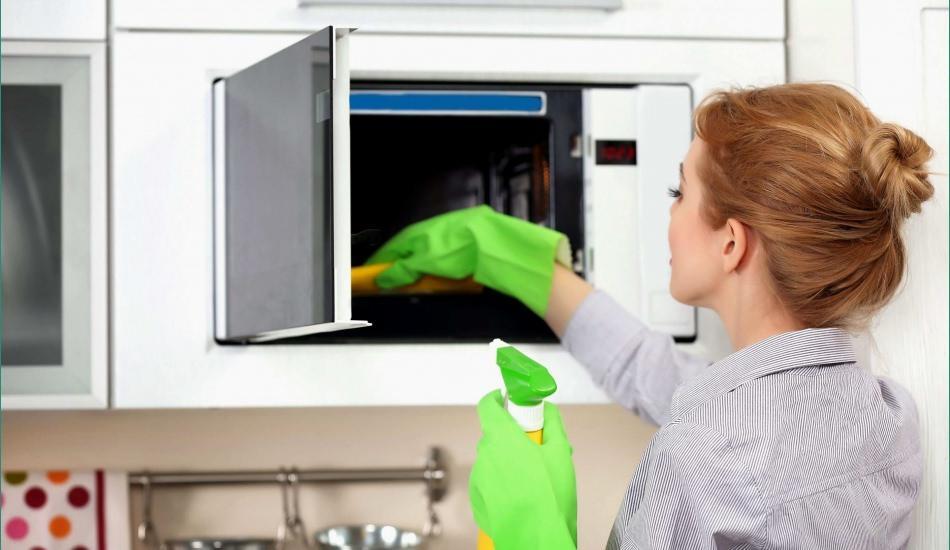 Mikrodalga nasıl temizlenir? En pratik temizleme yöntemi...
