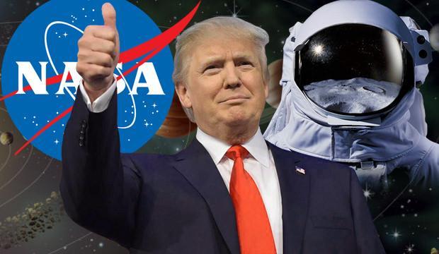 NASA'dan tarihi karar! Trump tepkisiyle alay konusu oldu