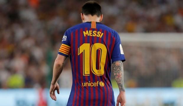 Şampiyonlar Ligi'nde sezonun golü Messi'den