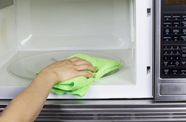 Mikrodalga temizliği