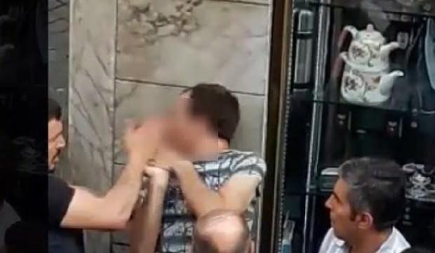 Tekme tokat dövülen taciz şüphelisi tutuklandı