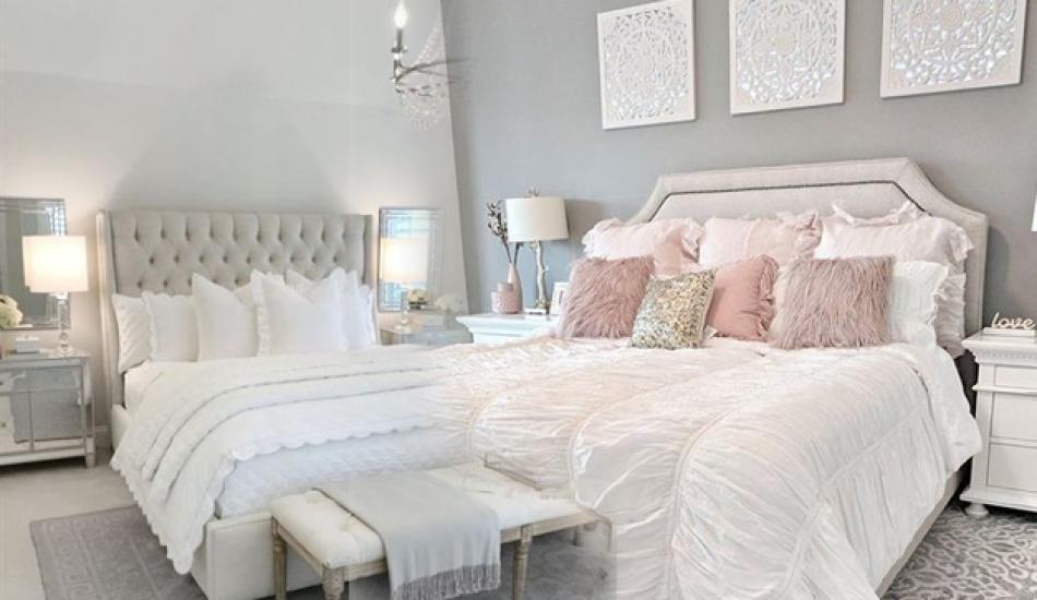 2019'un en şık yatak örtüsü modelleri