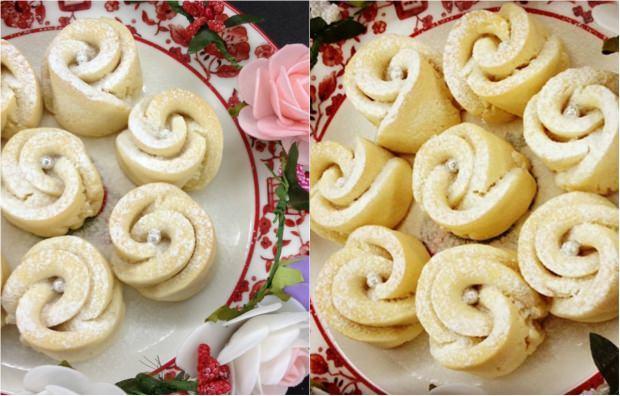 gül kurabiye tarifi