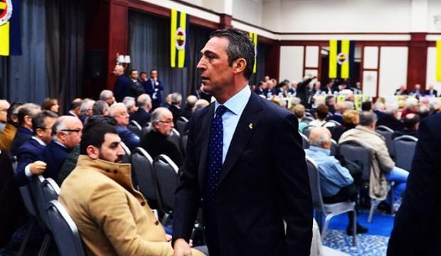 Ali Koç affetti Genel Kurul affetmedi!