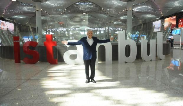 Binali Yıldırım'a İstanbul Havalimanı'nda yoğun ilgi!