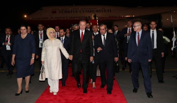 Cumhurbaşkanı Erdoğan Tacikistan'da!