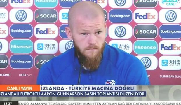 İzlandalı futbolcudan skandal sözler! 'Aynısını bize yaptınız'