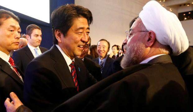 Japonya Başbakanı Abe İran'a gitti!