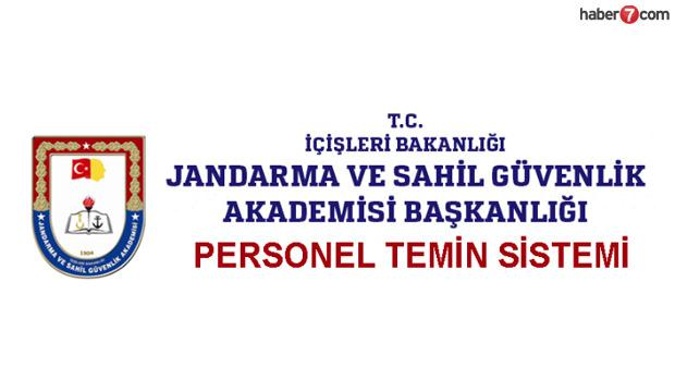 Jandarma uzman erbaş alımı devam ediyor! JGK başvuru ekranı..