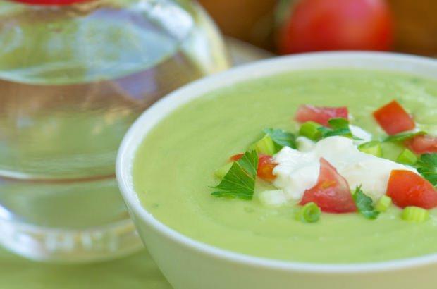yaz için çorba tarifi