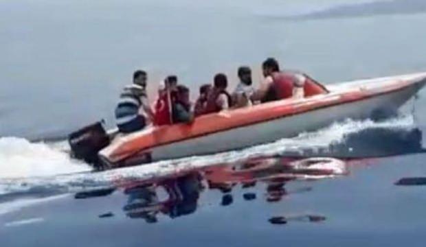 Muğla'da 8 kaçak göçmen yakalandı