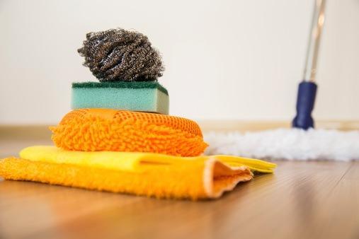 Yaz aylarında ev temizliği
