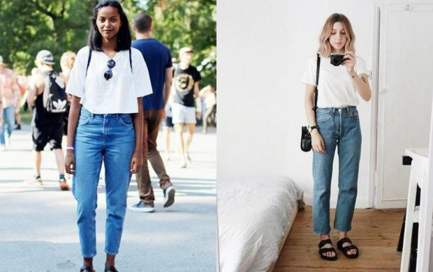 beyaz tshirt kombin önerileri