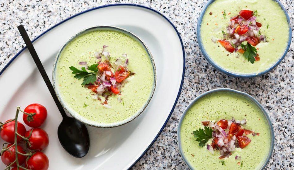 Serinleten soğuk çorba nasıl yapılır?