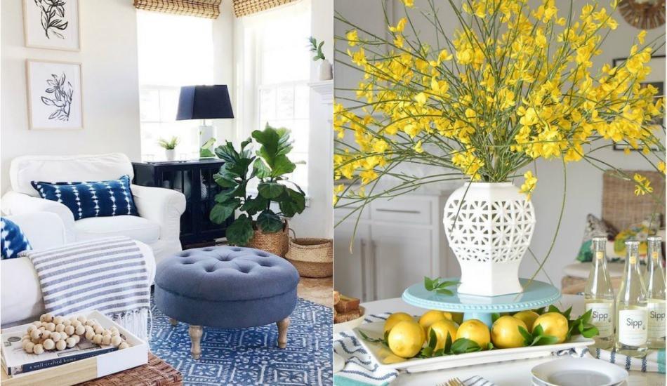 Yaz aylarına özel muhteşem dekorasyon önerileri