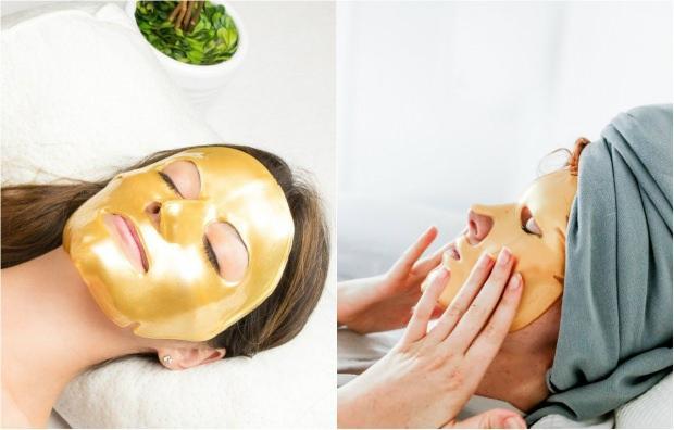 evde altın maske nasıl yapılır