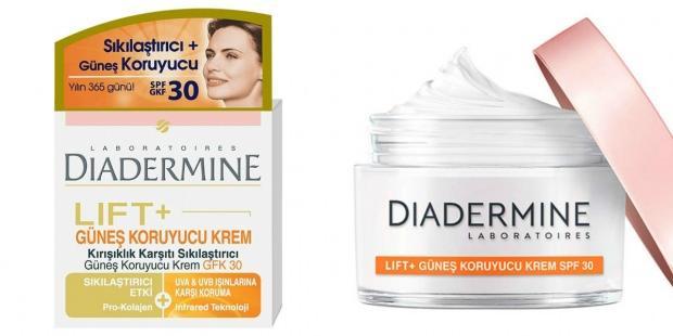 Diadermine Lift+ Spf 30 Güneş Koruyucu Krem 50ml :
