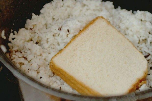 pilavın üstüne ekmek koyarsanız...