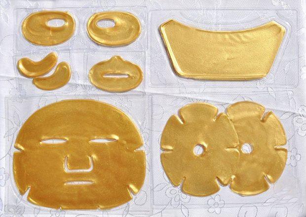 hazır altın maskeler