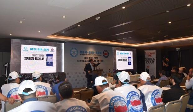 """""""Belediyelerde Sendikal Baskılar Raporu"""" açıklandı"""
