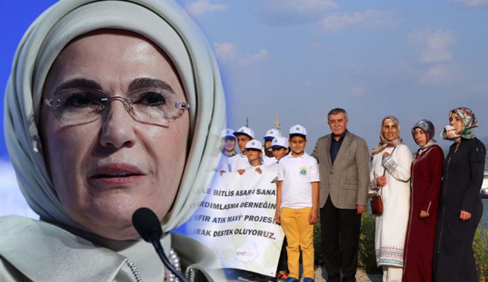 Bitlisli kadınlardan Emine Erdoğan'a tam destek