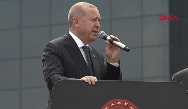 Erdoğan'dan CHP adayına sert tepki!