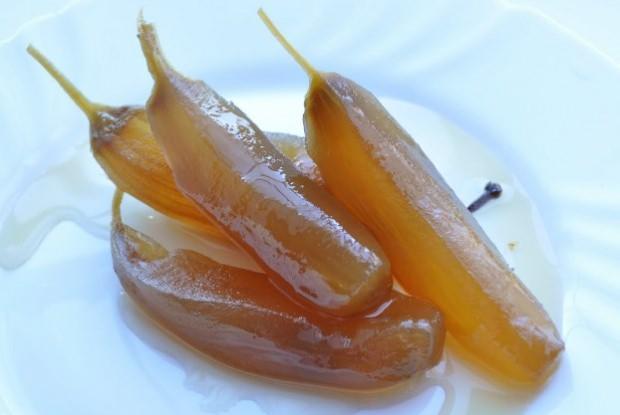 patlıcan tatlısı yapımı
