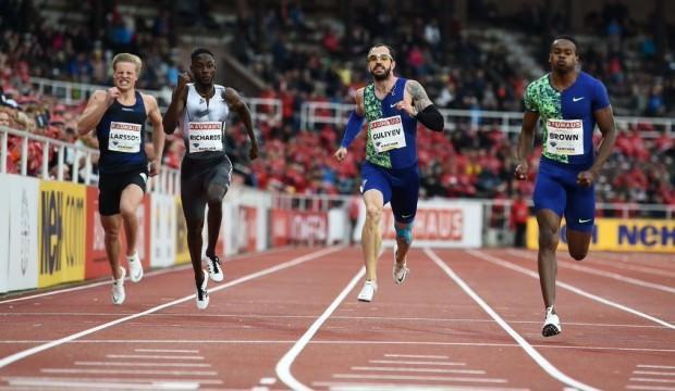 Ramil Guliyev Fas'ta ikinci oldu