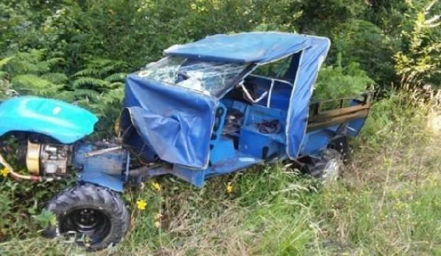 Siirt'te tarım aracı devrildi: 1 ölü