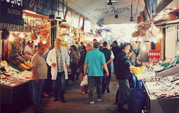 Üsküdar Balıkçılar Çarşısı