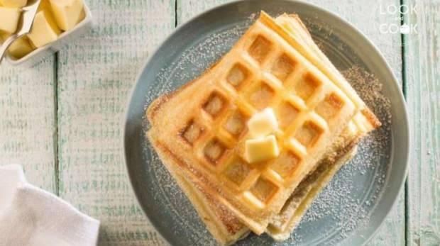 Akçaağaçlı waffle tarifi