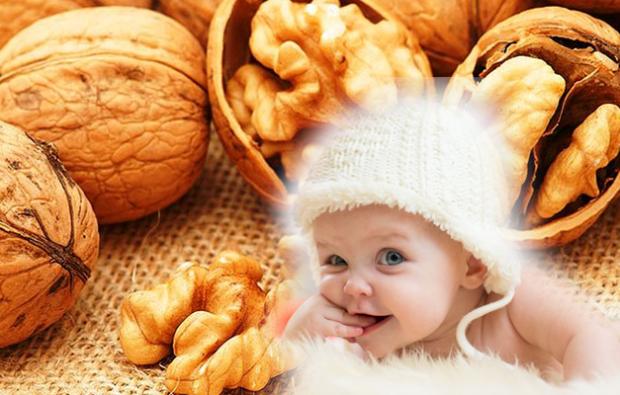 cevizin bebeklere faydası