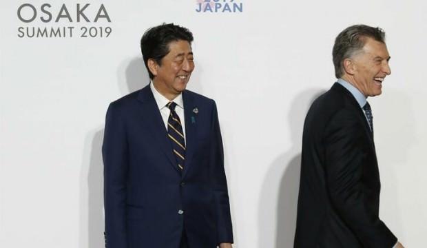 """Japonya'dan """"serbest ve adil ticaret"""" çağrısı"""