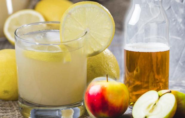 limon suyu ve elma sirkesi