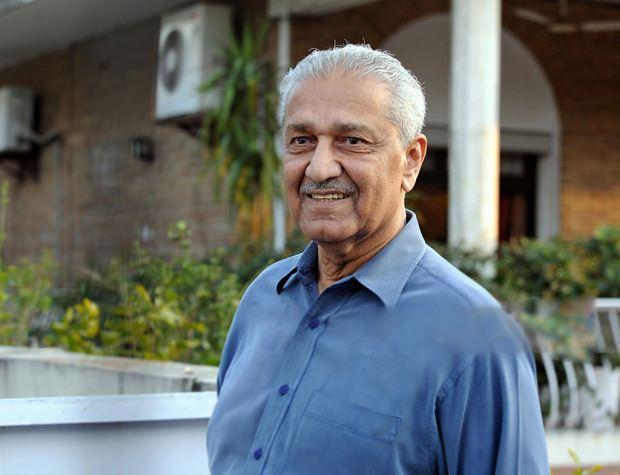 Pakistanlı nükleer fizikçi Dr. Abdulkadir Han