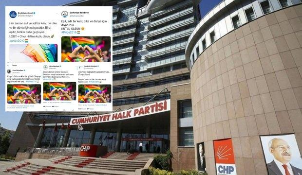 CHP'li belediyelerden rezalet paylaşım! Tepki yağıyor