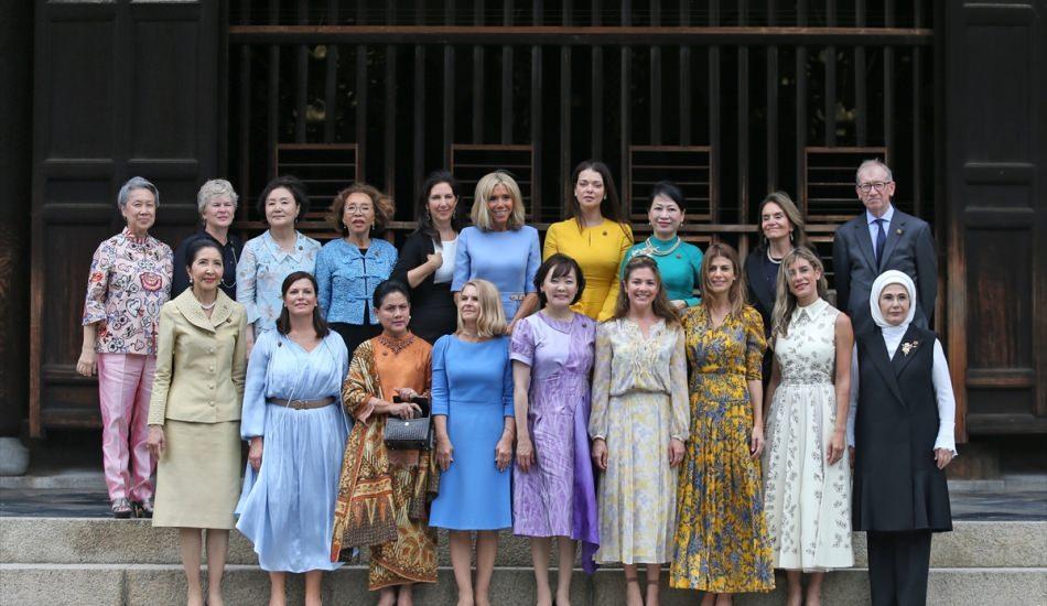 First lady'lerin şıklık yarışı! G20 zirvesine damga vuran lider eşleri