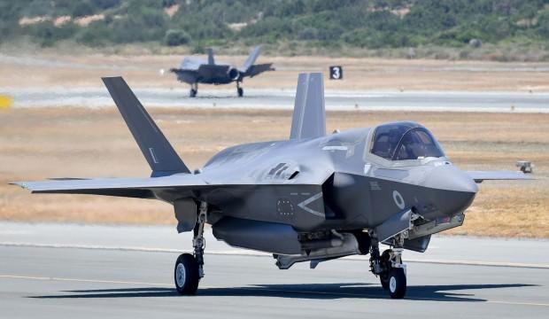 İngiliz F-35'leri Kıbrıs'ta harekete geçti