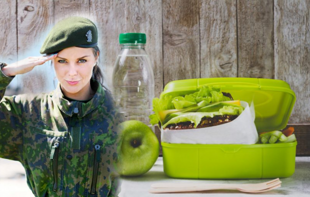Askeri diyet listesi