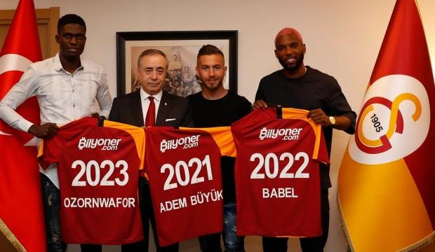G.Saray'da yeni transferlerden ilk sözler